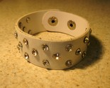45 white leather bling thumb155 crop