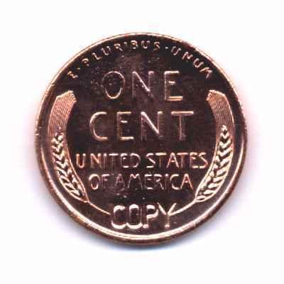 1922 no- D  Lincoln BU Replica Copper 1REFCO