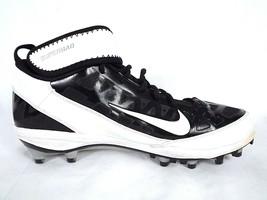Nike Zoom Superbad Mens Cleats Size 12.5 Black White Swish  Model 4422697 - $24.70