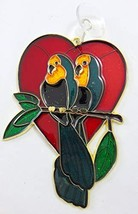 Westman Works Parrot Love Birds Tropical Suncatcher Window Ornament Deco... - $15.79