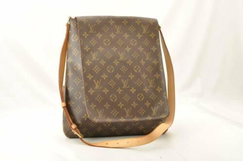 LOUIS VUITTON Monogram Musette Shoulder Bag M51256 LV Auth 10485