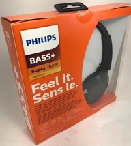Philips - SHB3075BK - BASS+ Wireless Bluetooth On-The-Ear Headphones wit... - $39.55