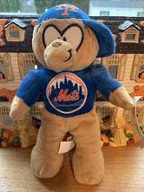 New York Mets NYM Soft Plush Bear Dog Genuine Merchandise Logo Tag Retir... - $14.99