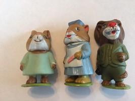 Richard Scarry's Puzzletown Figures Nurse Doctor and Patient Playskool 1976 - $16.69
