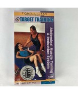 Tony Little Target Training: Abdominal Muscle Toning Reduction System VHS - $7.92