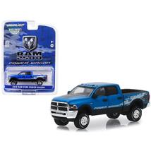 2016 Dodge Ram 2500 Power Wagon Pickup Truck Blue Streak Pearlcoat Hobby... - $12.46