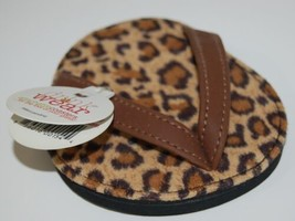 Carrie And Company Leopard Print Sandal 2 Coaster Set Drink Wear Attachable image 2