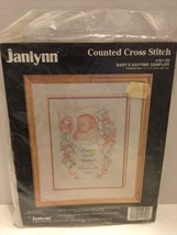 Janlynn Baby's Nap time Sampler 157-05 1994 Sealed - $9.49