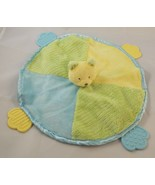 Carters Teether Round Bear Lovey Security Blanket Stuffed Animal Plush Toy - $7.95