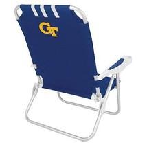 Picnic Time Collegiate Monaco Beach Chair, Georgia Tech - Blue - $113.84