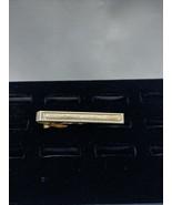 Vintage Gold Tone Swank Tie Bar (1991) - $10.00