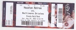 Baltimore Orioles @ Houston Astros 5/27/17 Ticket! Dallas Keuchel W Spri... - $1.97