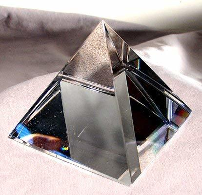 Scholer 60mm Clear Crystal Pyramid