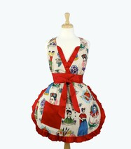 Hemet Clothing VIVA FRIDA Full Kitchen Cooking Apron  - $49.45