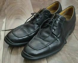 COLE HAAN Men's Leather Moc-Toe Dress Blucher ~ Black ~ Size 11M  India - $41.19