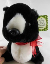 "Russ Berrie Valentines day Friendly Forest Animals Skunk Plush 8"" Russ P... - $7.42"