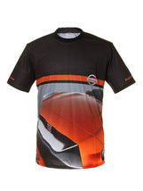 Nissan Black Red Car Short Sleeve Cool T Shirt Auto Car Graphics Tee - $24.75