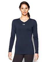 Under Armour Women's UA Power Alley Long Sleeve Jersey Small Midnight Navy - $48.48