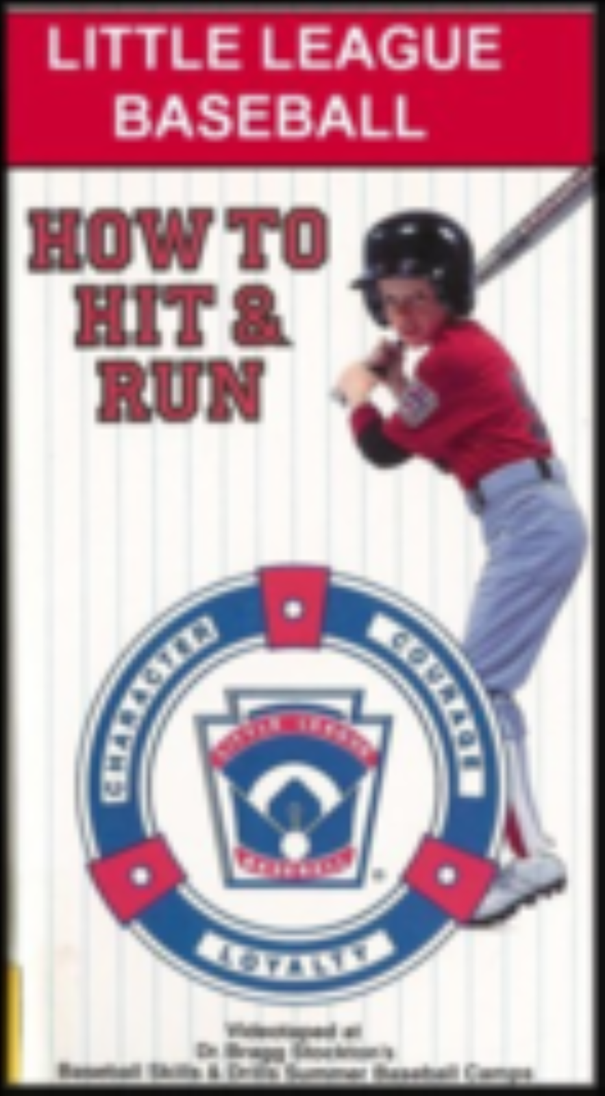 Little League Baseball - How To Hit and Run Vhs