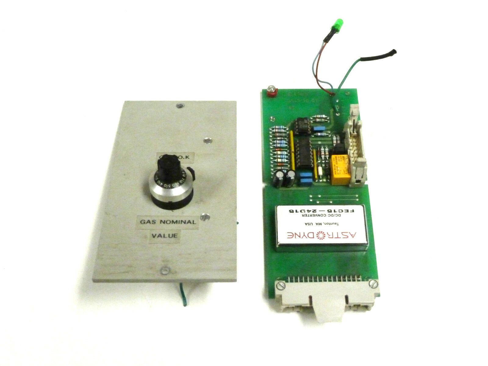 ELATRON 4549.09.01 GAS FLOW CONTROL BOARD 870476050114 45499001