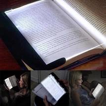 Light Book Creative Flat Reading Led Night Portable Panel Travel Reading... - $15.73