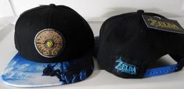The Legend Of Zelda Breath Of the Wild Sublimated Bill Nintendo Snap Back Hat - $16.95