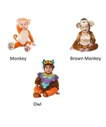 NEW NIP Baby Infant Halloween Costume  0/6 6/12 12/18 Months S M L Eleph... - $16.99