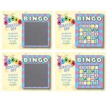 Easter Basket Scratch-Off Bingo Cards, Family/Party Casino Games, Set of 26 - $12.25