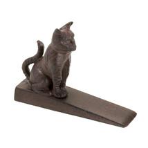 Cat Door Stoppers Decorative, Door Stopper Wedge - Cast Iron, Bronze Color - $16.46