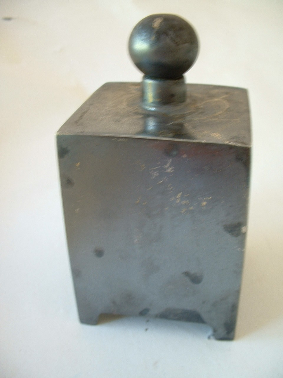 Vintage What-zit Silverplated Paperweight