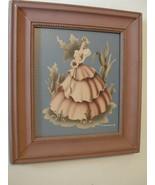 Vintage Framed Turner Print of Victorian Lady - $28.00
