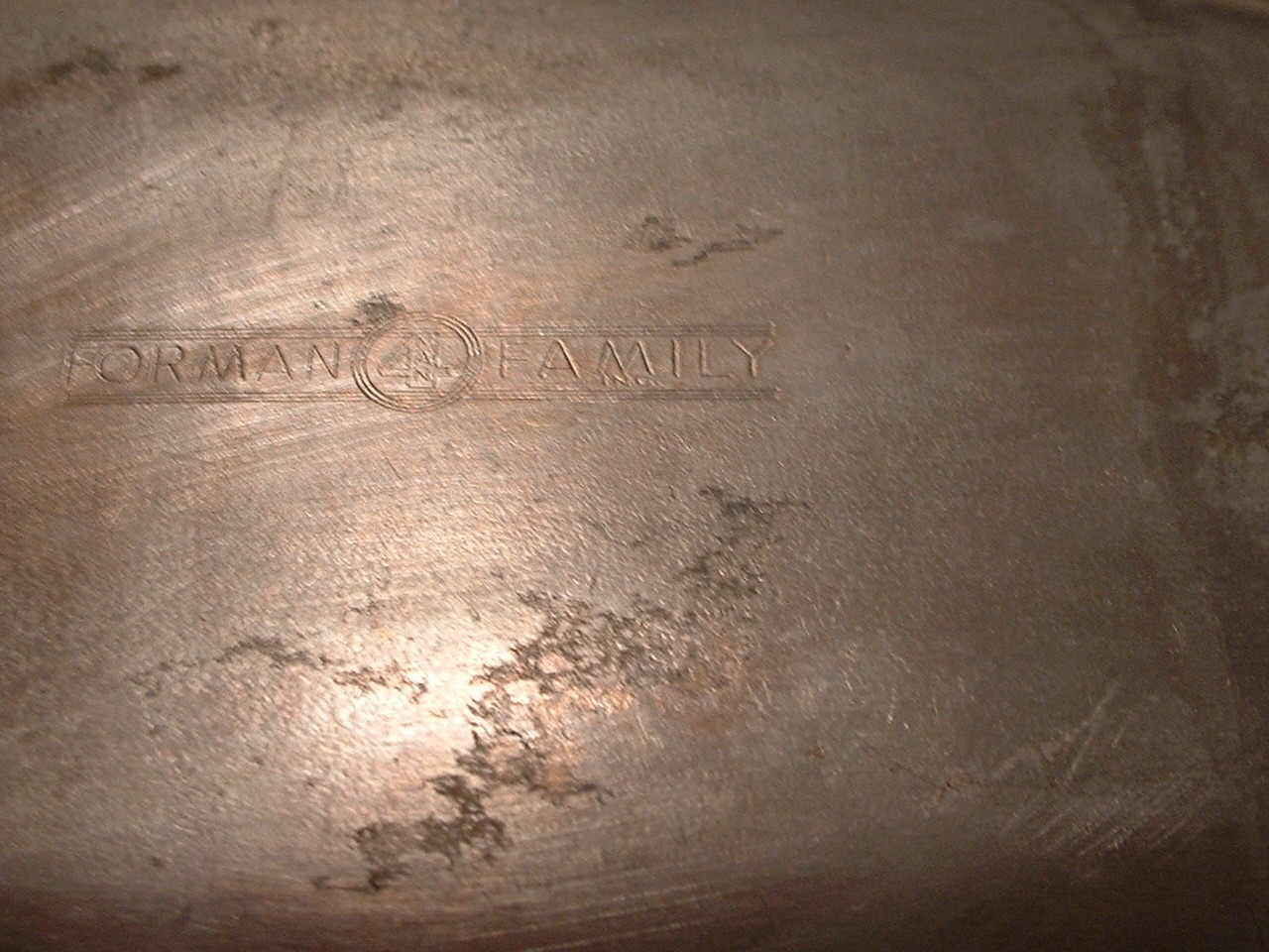 "Vintage 12"" x 7"" Oval Aluminum Tray Bowl"