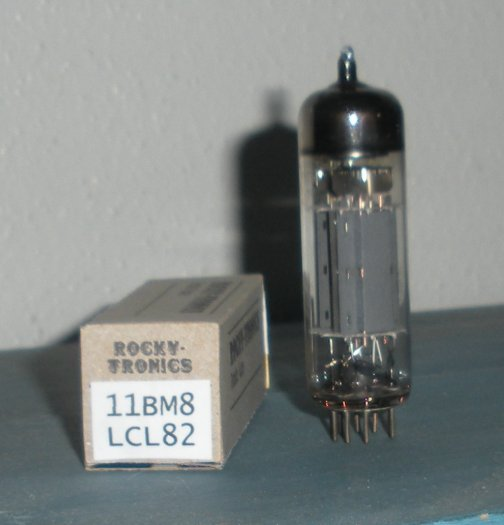11BM8 LCL82 Vacuum Tube for use in Homebrew Amplifiers