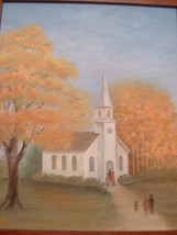 Oil on Board Painting by Artist Jessie Bowers - $75.00