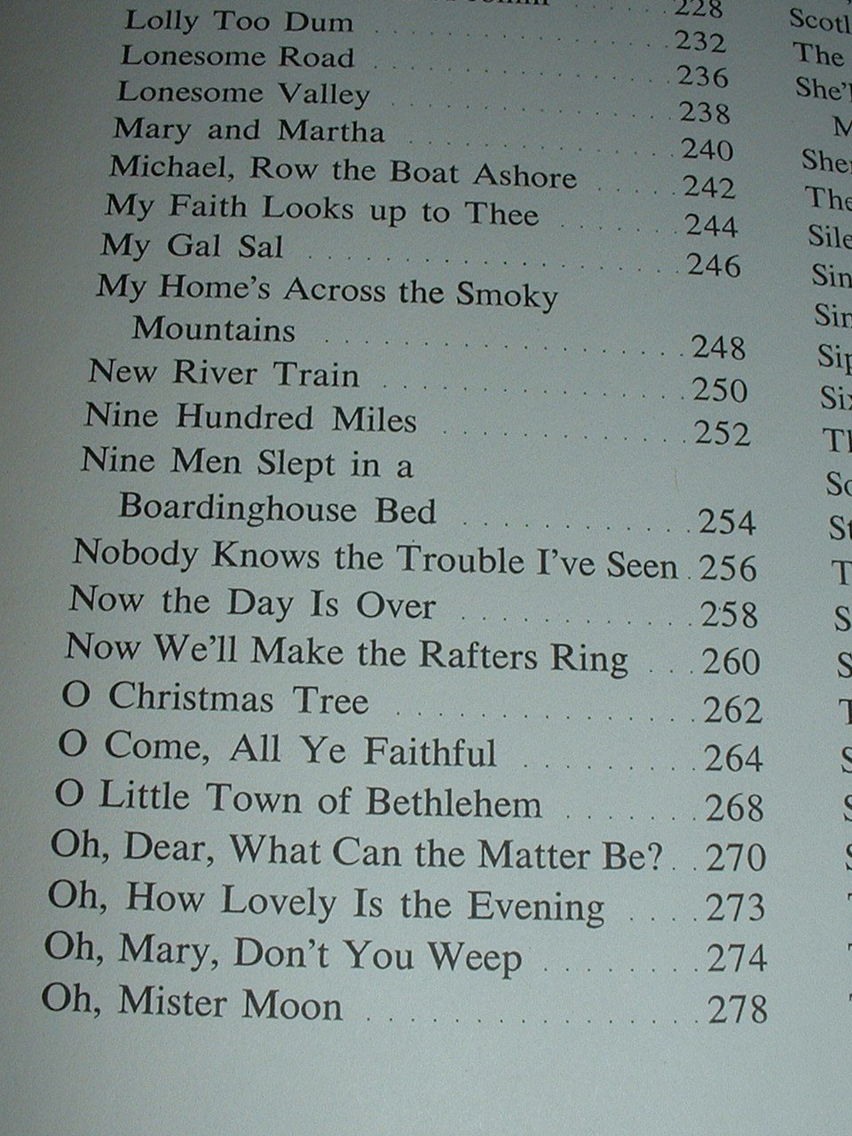 Vintage Good Times Songbook