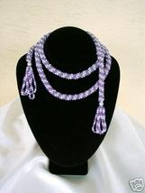 "Gorgeous 50"" Simulated Pearl Wrap Tassel Necklace - $15.00"