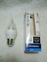 WESTINGHOUSE 60 Watt LED Equivalent Decorative Bulb Using Only 7 Watts-Dimmable! - $12.95