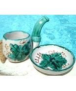 Vintage Porcelain Demitasse Cup Saucer Italian ... - $15.95