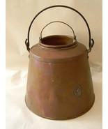 Vintage Antique Primitive Copper Pail with Insert - $150.00