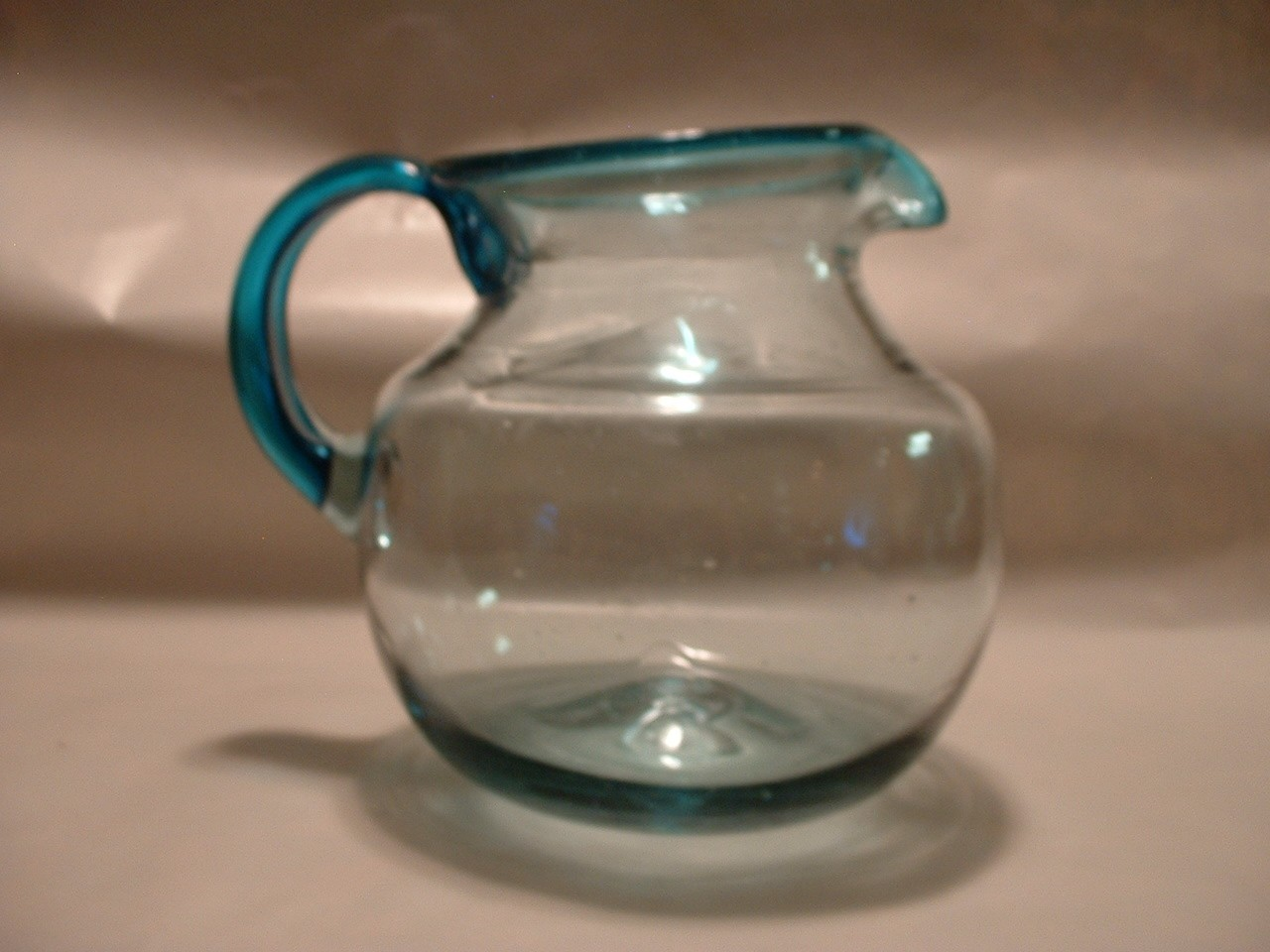 Vintage Art Glass Pitcher