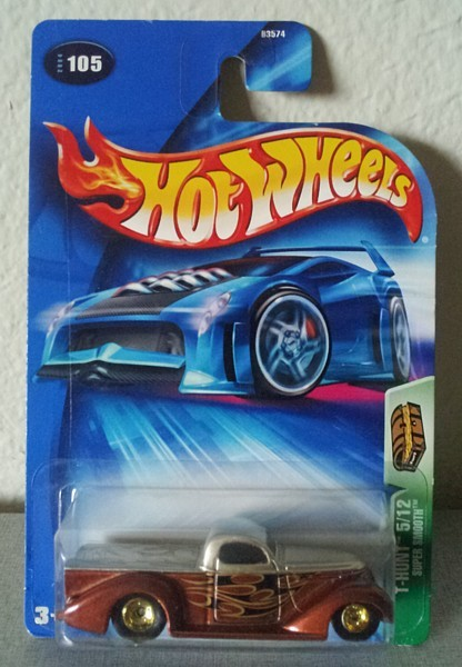 SUPER SMOOTH Hot Wheels TREASURE HUNT 2004 #5/12 diecast NIB