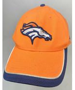 New Era 39Thirty Denver Broncos L/XL Fitted Hat Orange  - $8.90