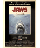 Jaws Signed Movie Poster  - $180.00