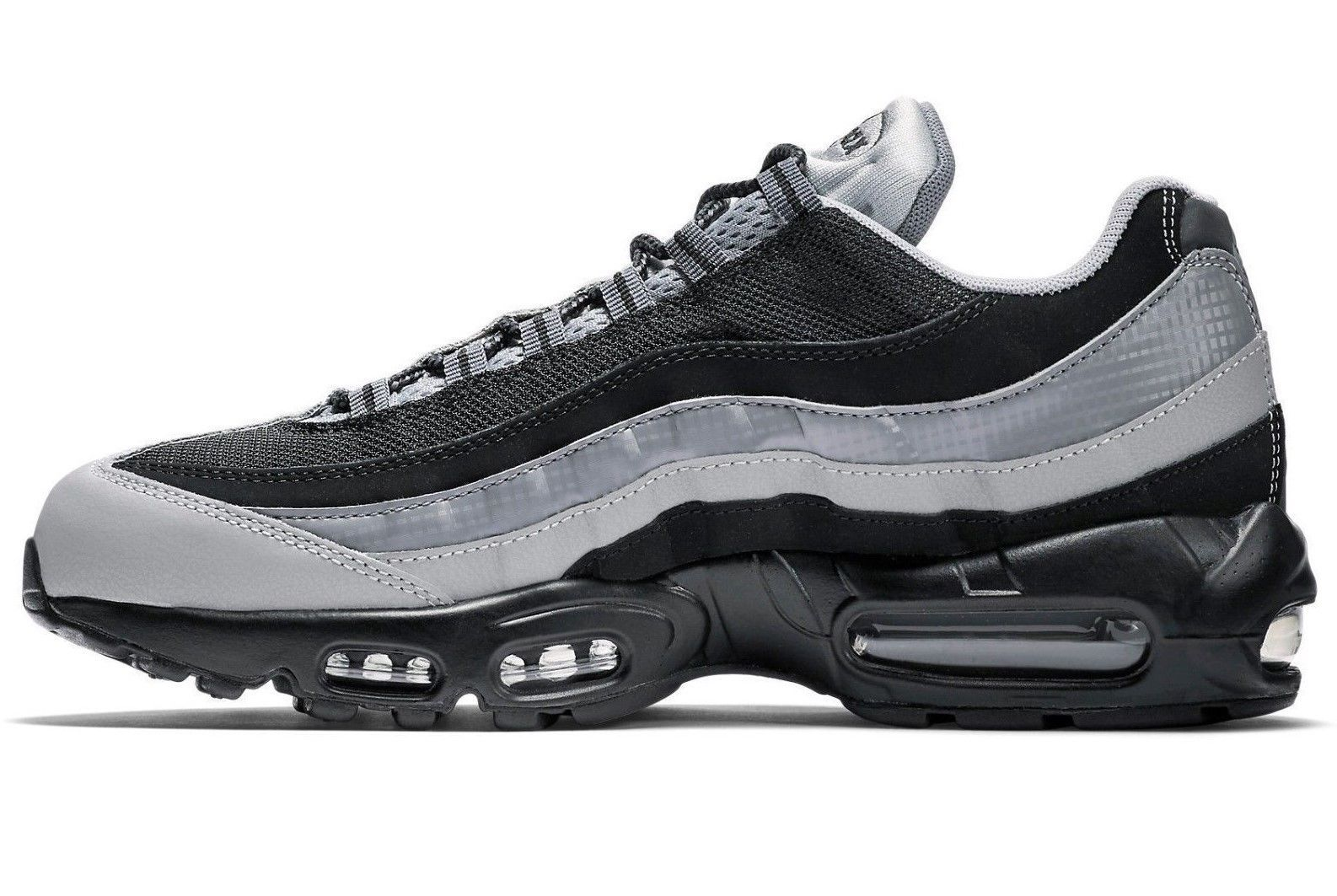 info for 9d399 08ba3 NIKE AIR MAX 95 ESSENTIAL OG BLACKWOLF GREY SIZE 9 BRAND NEW (749766