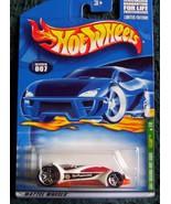 VULTURE Hot Wheels TREASURE HUNT 2001 #7/12 diecast NIB T-Hunt - $9.99