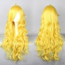 RWBY Yellow Trailer Yang Xiaolong Xiao Long Cosplay Costume Blonde Wig F... - $20.69