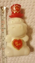 VintageAVON 1980  HUGGABLE  HIPPO  LIGHT  MUSK  AFTER  SHAVE bottle •no ... - $12.73