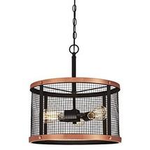 Westinghouse Lighting 6332700 Emmett Three-Light Indoor Pendant, Oil Rubbed Bron - $130.92