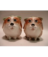 Vintage Pair of Cute Doggy Salt / Pepper Shakers - $15.00