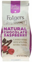 FOLGERS SIMPLY GOURMET CHOCOLATE RASPBERRY GROUND COFFEE 10OZ - $8.83